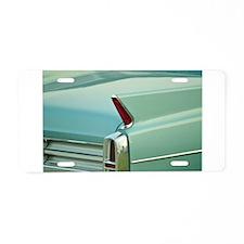 Seafoam Aluminum License Plate