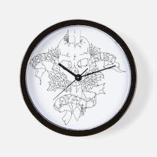 HTL_black copy Wall Clock
