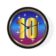 10 Wall Clock