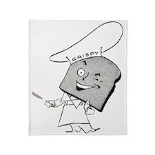 crispy_breadman_trans2 Throw Blanket