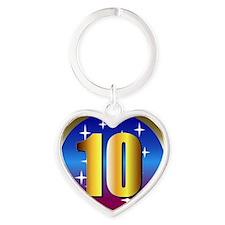102 Heart Keychain