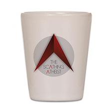 Scathing Atheist Logo Shot Glass