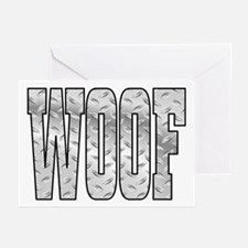 DiamoPnd late Woof Greeting Cards (Pk of 10)