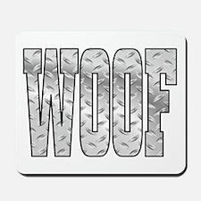 DiamoPnd late Woof Mousepad