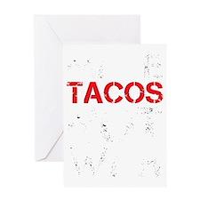 dark tacos.gif Greeting Card