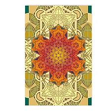 Metatron-Star-Mandala-Pos Postcards (Package of 8)