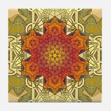 Metatron-Star-Mandala-Poster Tile Coaster
