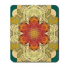Metatron-Star-Mandala-Poster Mousepad