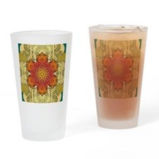 Metatron-Star-Mandala-Poster Drinking Glass