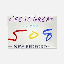 newbedford Rectangle Magnet