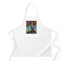 Yogini in Tree Pose Apron