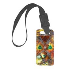 Metatron-Colorscape-Mandala-Post Luggage Tag