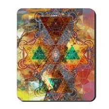 Metatron-Colorscape-Mandala-Poster Mousepad
