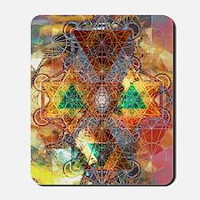 Metatron-Colorscape-Mandala-Poster Mousepad