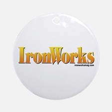 Old School IronWorks Ornament (Round)