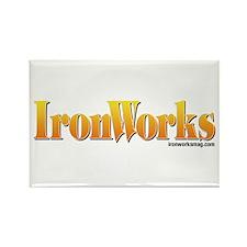 Old School IronWorks Rectangle Magnet