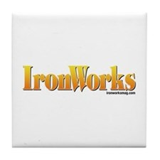 Old School IronWorks Tile Coaster