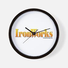 Old School IronWorks Wall Clock
