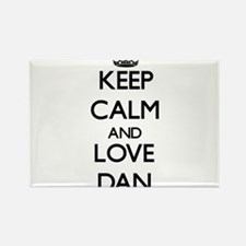 Keep Calm and Love Dan Magnets