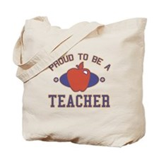 Collegiate Proud Teacher Tote Bag