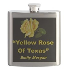 YELLOW ROSE OF TEXAS Flask