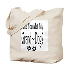 Cute Granddog Tote Bag