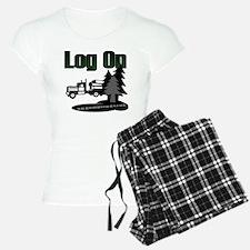 LOG ON DESIGN SEMI AND TREE Pajamas
