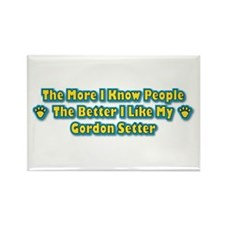 Like My Setter Rectangle Magnet (10 pack)