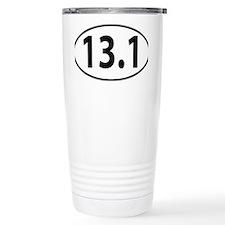 13.1 - half marathon Travel Mug