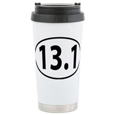 13.1 - half marathon Travel Coffee Mug