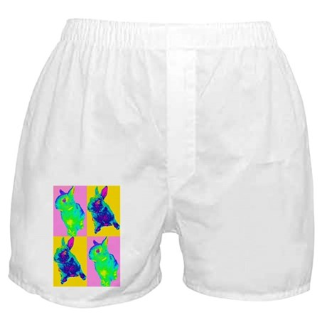 Warhol bunnies Boxer Shorts