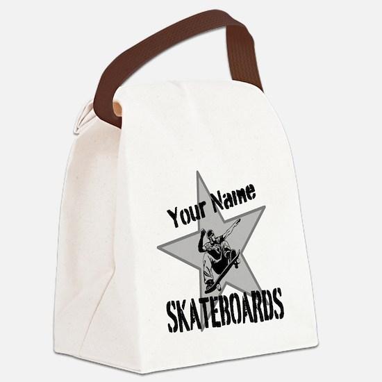 Custom Skateboards Canvas Lunch Bag