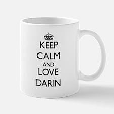 Keep Calm and Love Darin Mugs