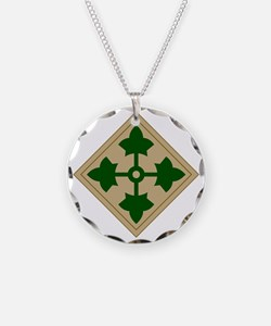 4th Infantry Division Necklace