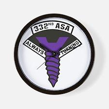332nd ASA Big Purple Screw Wall Clock