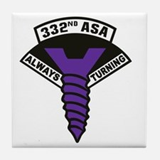 332nd ASA Big Purple Screw Tile Coaster