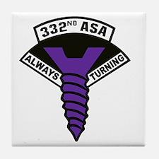 332nd ASA Big Purple Screw Tile Coaster