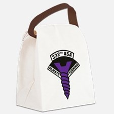 332nd ASA Big Purple Screw Canvas Lunch Bag