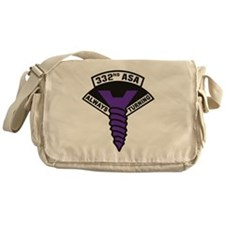 332nd ASA Big Purple Screw Messenger Bag