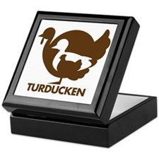 Turducken_brown Keepsake Box