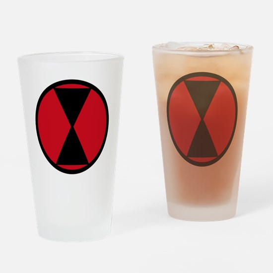 7th Infantry Division Drinking Glass
