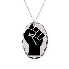 black-powerTransparent78ipad Necklace