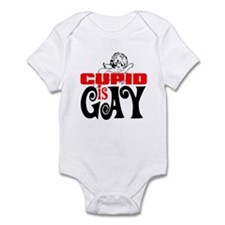 CUPID IS GAY Infant Bodysuit