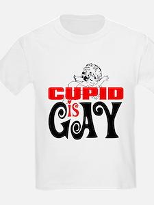 CUPID IS GAY Kids T-Shirt