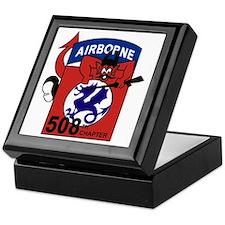 508th PIR Keepsake Box