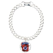 508th PIR Charm Bracelet, One Charm