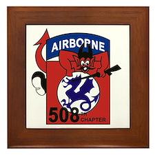 508th PIR Framed Tile