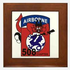 508th PIR Framed Tile