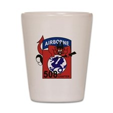 508th PIR Shot Glass