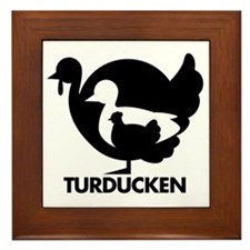 Turducken Framed Tile